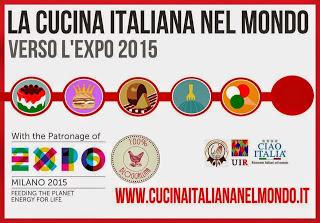 PARTECIPA ALL'IMPERDIBILE CONTEST DI BLOGGALLINE E CUCINA ITALIANA NEL MONDO VERSO EXPO 2015!