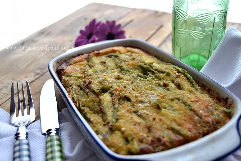 sformato di asparagi