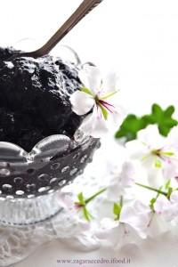 granita di gelsi neri