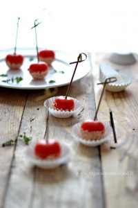 Pomodorini finger food