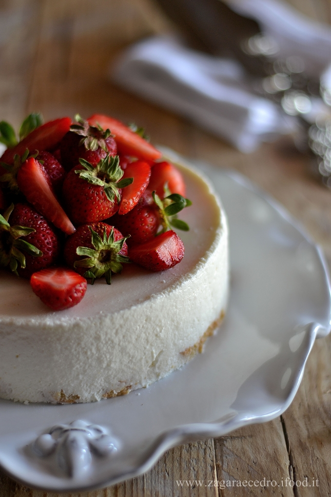 Cheesecake allo yogurt e Savoiardi