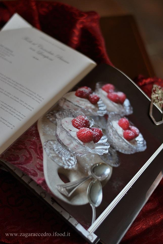 Fools al Cioccolato bianco con Lamponi