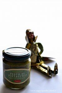 Risotto con crema di pistacchio