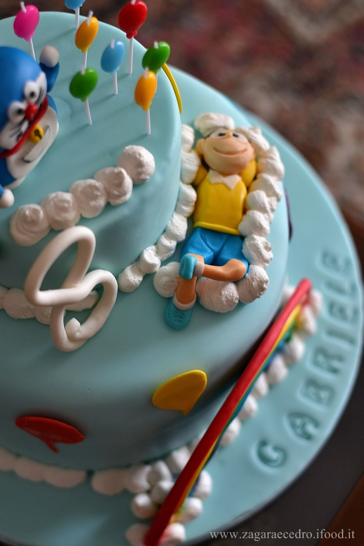Torta Doraemon e Nobita
