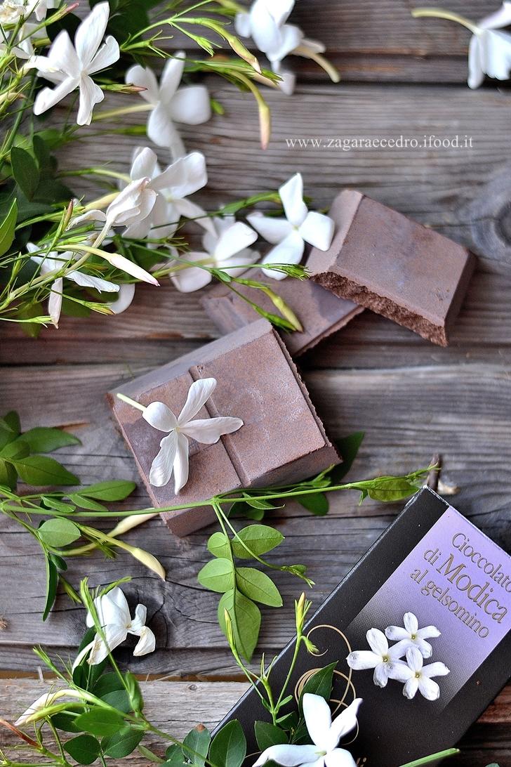 cioccolato al gelsomino di modica