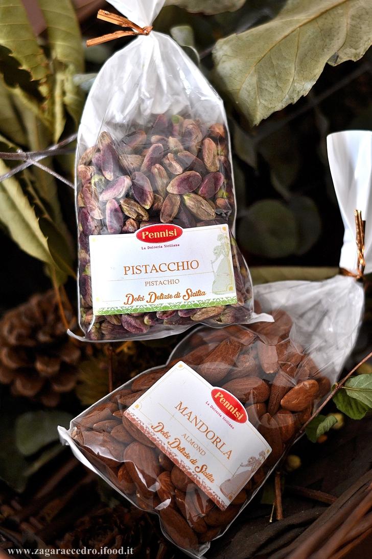 mandorle e pistacchi