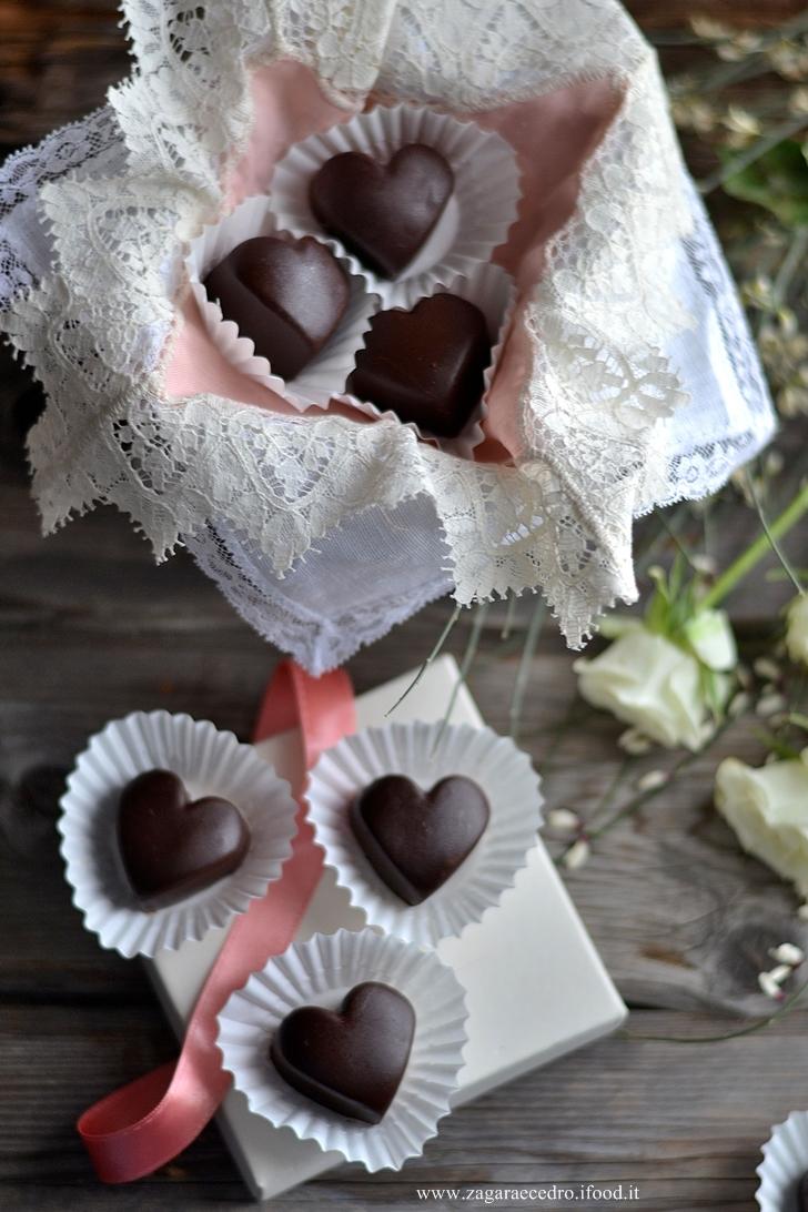 Cioccolatini alla mandorla