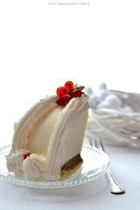 Zuccotto di cheesecake
