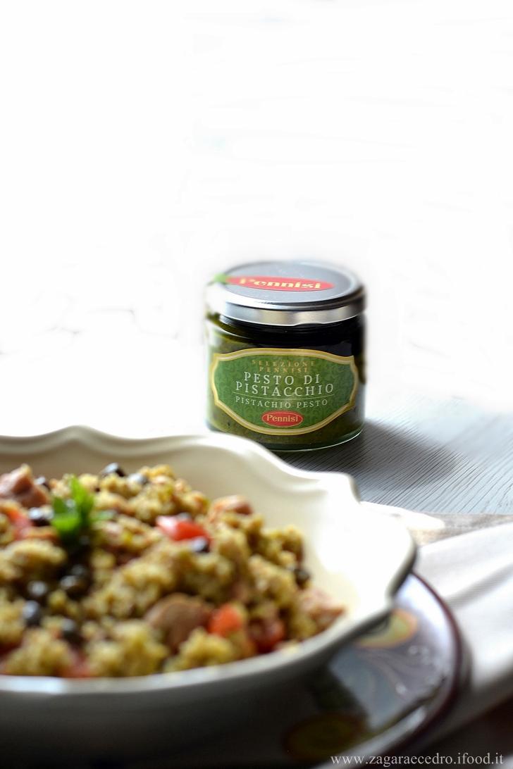 Insalata di cous cous al pistacchio