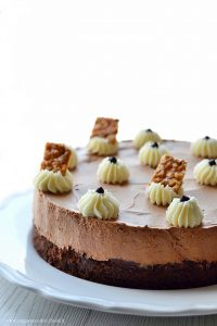torta brownies e mousse al cioccolato