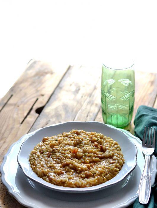 risotto pistacchio e zucca