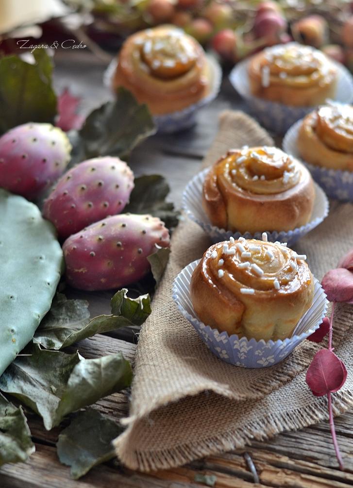 rose con marmellata di ficodindia
