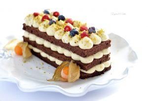 Delizia al cacao e pistacchio