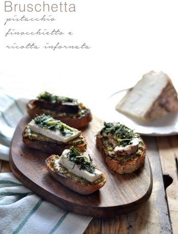 Bruschetta pistacchio