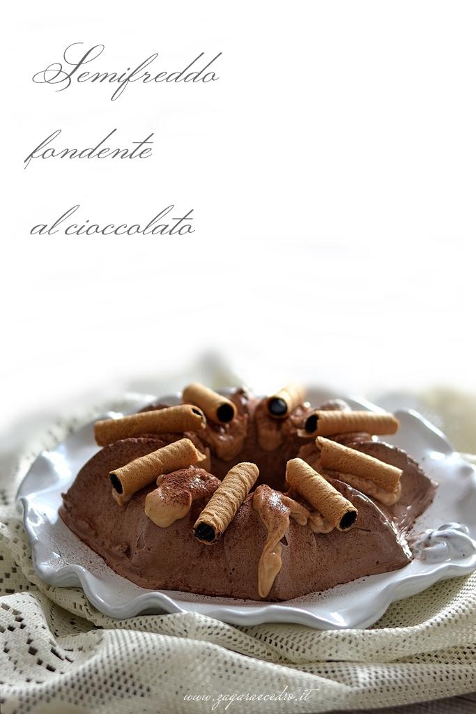 Semifreddo fondente al cioccolato