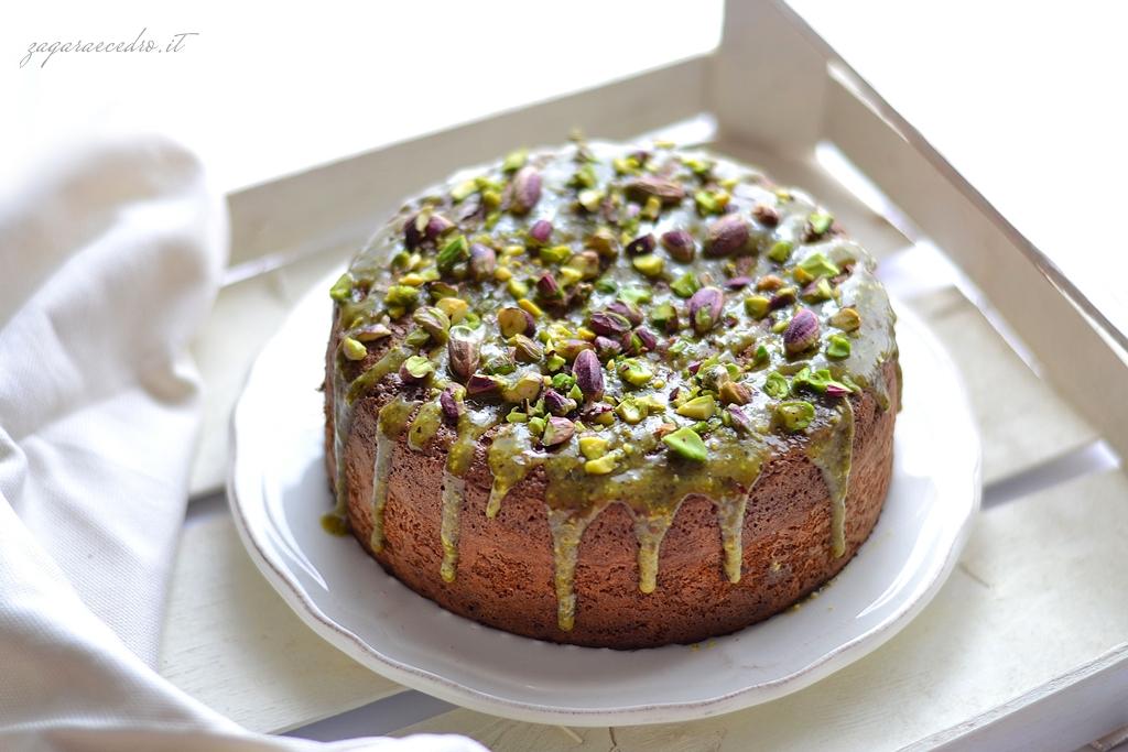 torta di pistacchio