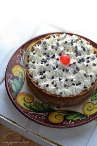 Cannolo in torta
