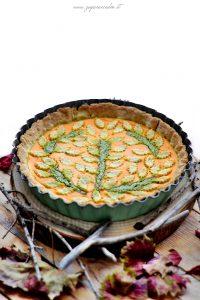 crostata salata di zucca ricotta e pistacchio