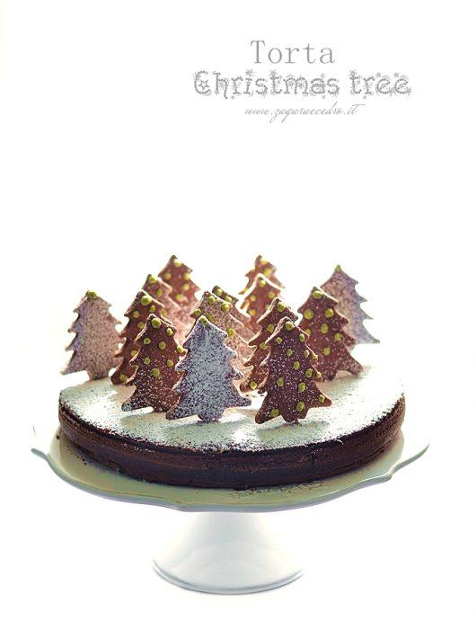 torta christmas tree