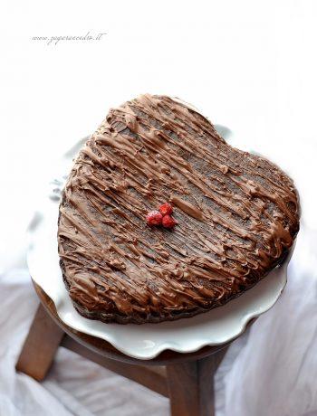 torta veloce cacao e nutella