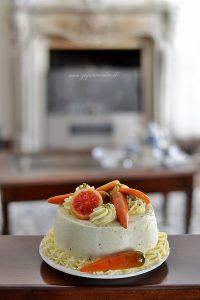 torta chiffon arancia e carota