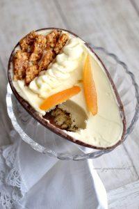 uovo di cioccolato al baileys e arancia