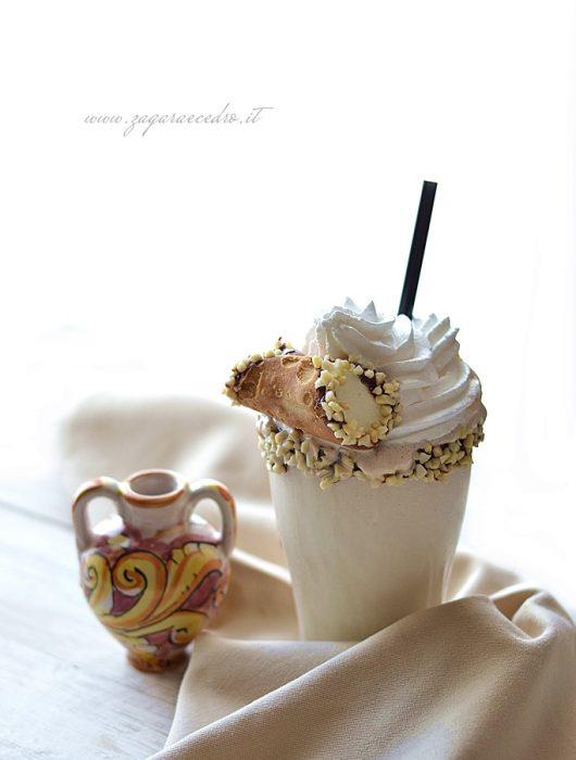 milk shake alla mandorla