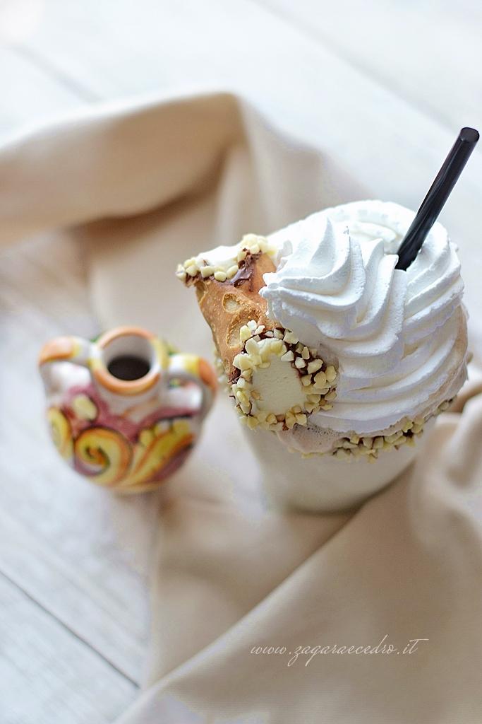 milk shake di mandorla
