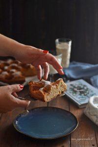 torta con prugne e cannella